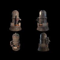 Melting Furnace WWII