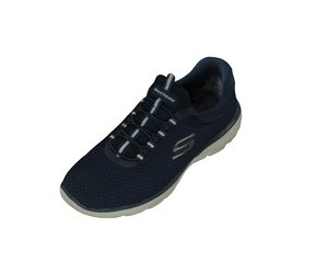 sketchers sneakers lite-weight 3D model