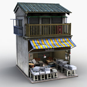3D tomoplace japanese style house