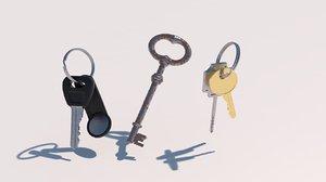 3D model bunch keys