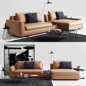 3D model walter knoll tama living