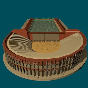 le rome antique 3D model