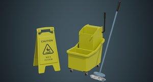 3D mop wringer 1a