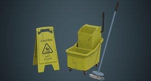 3D mop wringer 1b model