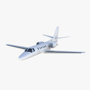 3D model cessna citation ii bravo