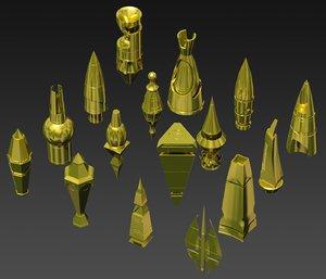 artifact kitbash hitech model
