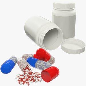 3D jar pills