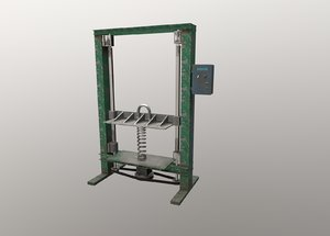 tool industry 3D model