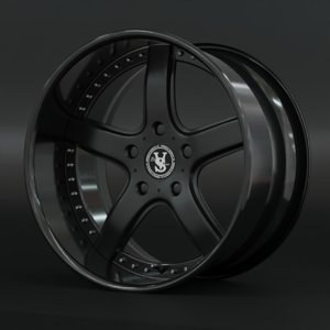 veilside wheels 3D model