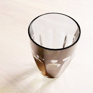 3D model tall glass cup