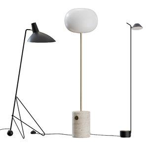 jwda floor lamp 3D model