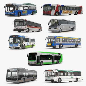 buses 11 bus 3D model