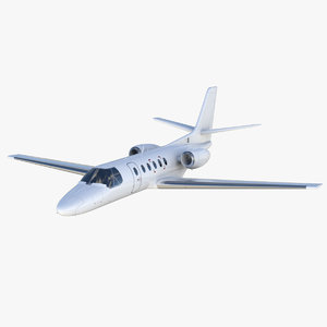 cessna 550 citation 2 3D model