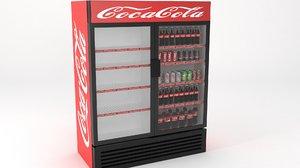 3D model soda fridges