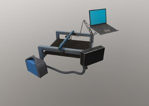 iron metallness model