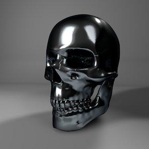 metal skull l753 3D