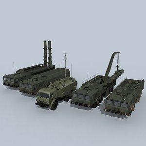 3D iskander-m battery iskander-k