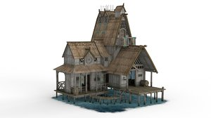 viking house 03 3D model