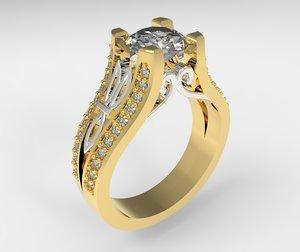 3D ring model