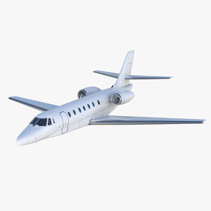 cessna citation sovereign 3D model