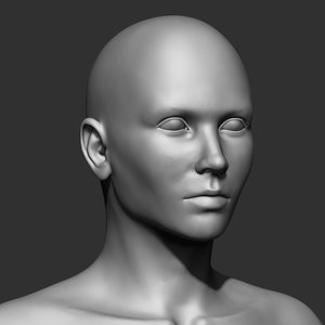 human body 2020 based 3D model