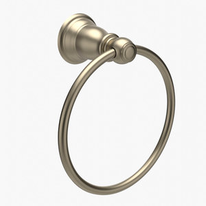 towel ring kingsley 3D model