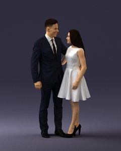 scanned human ready 3D model