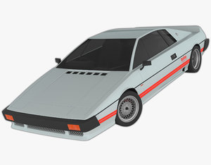 3D model esprit s3 turbo mp1