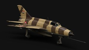 mig-21 fighter 3D model