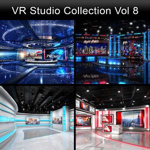 3D virtual studios collections