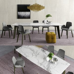 poliform howard table ventura 3D model