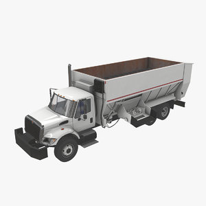 3D navistar international 7400 box