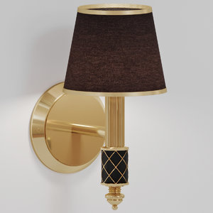 sconce boheme murano wall lamp 3D model