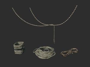 set rope 3D model