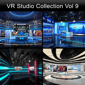 3D model virtual studios collections