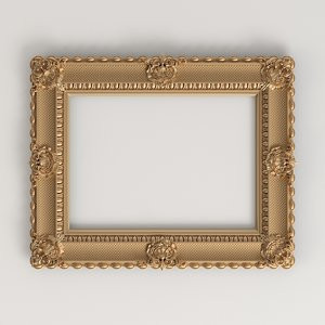 frame classic style 3D model