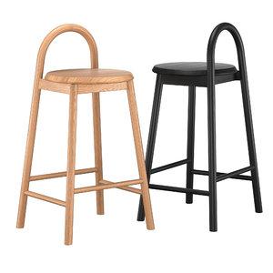 bobby bar stool 3D model