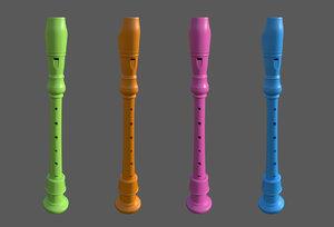 3D flute -