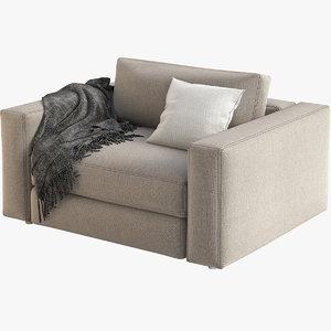 3D reid armchair