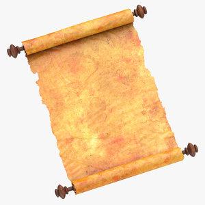 3D scroll open 02
