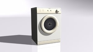 tumble dryer 3D model