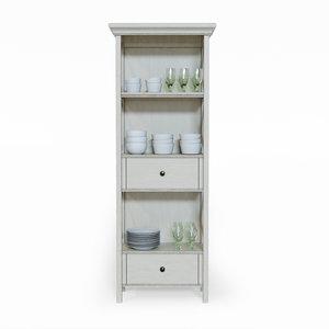 bolanburg display cabinet 3D