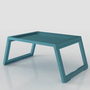 klipsk table ikea 3D