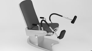 gynecology chair modelled model