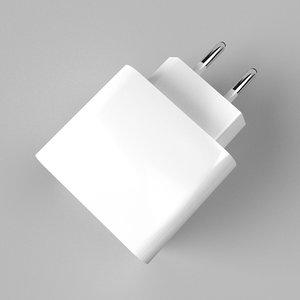 phone charger v2 3D model