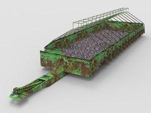 3D warehouse storage