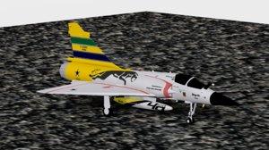 dassault mirage 2000-c tribute 3D