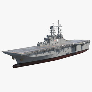 uss tripoli lha 7 model