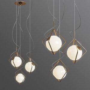 jack olantern brokis pendant light 3D model