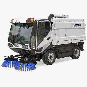 johnston cx400 road sweeper model